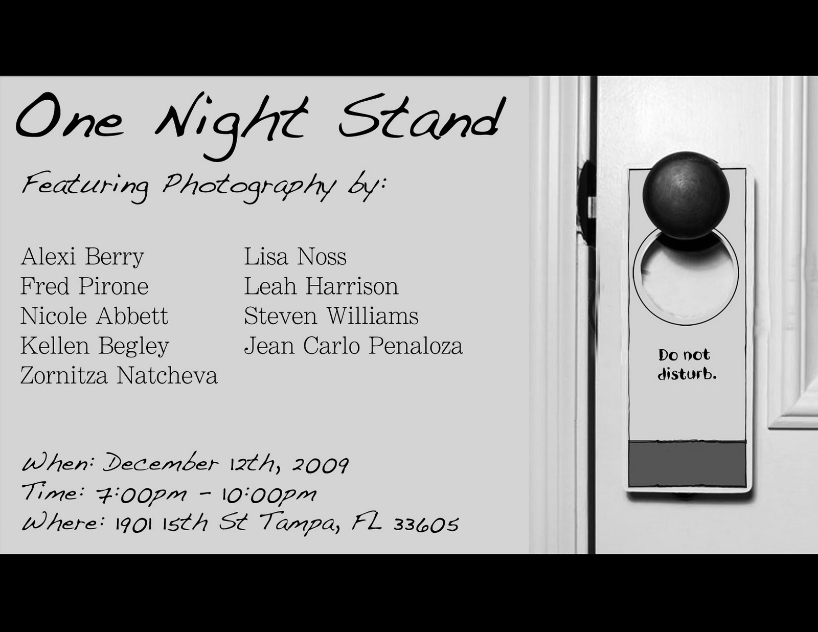 One night stand tampa